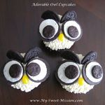 Adorable Owl Cupcakes