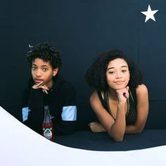 When both Amandla and Willow Smith were chilling being #CarefreeBlackGirls together. | 22 Times Amandla Stenberg Was The Ultimate Carefree Black Girl