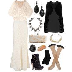 Fall Elegance, created by azurafae on Polyvore