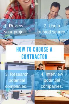 By thoroughly researching companies and asking the right questions beforehand, you can identify contractors that are the best pick for you and your home.