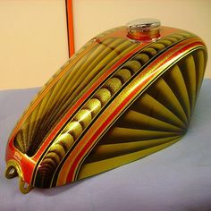 Fantastic work of Roberto La Rogna - Custom Design. #Padgram