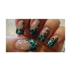acrylic nails | Tumblr, found on #polyvore. #nails nail polish #makeup nail art