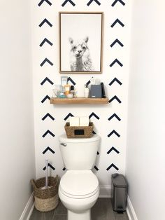6 Must-Have Guest Bathroom Essentials - Organized-ish by Lela Burris DIY wallpaper with Cricut Diy Bathroom, Guest Bathroom Essentials, Diy Wallpaper, Bathroom Wallpaper, Guest Bathroom, Bathroom Rules, Bathroom Design, Bathroom Decor, Bathroom Essentials