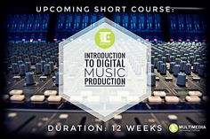 This Introduction to Digital Music Production skills programme provides the learner with an all-inclusive overview of creative music production in various music genres. Music Courses, Music Production, Latest Music, Your Music, Multimedia, Certificate, Musicals, Career, Knowledge