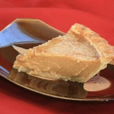 Tarte Au Sucre Francaise (French Canadian Sugar Pie) Recipe