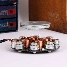 Buy Magnetic Levitation Stand The Air Suspension Creative Rotating Display Jewelry Display Computer Engineering, Electronic Engineering, Electronics Gadgets, Electronics Projects, Tesla Technology, Tesla Inventions, Diy Rocket, Electronic Packaging, Magnetic Levitation