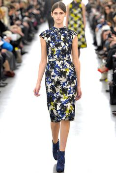 Erdem Fall 2012 Ready-to-Wear Fashion Show - Franzi Mueller