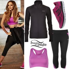 Jade Thirlwall USA Pro Campaign Outfits