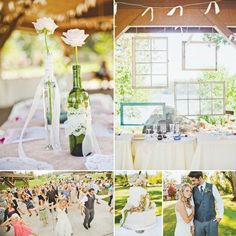 {Budget Friendly} Vintage Outdoor Wedding by Amber Lay Events!
