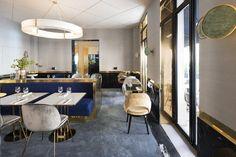 Yeeels restaurant by Rodolphe Parente & Benjamin Liatoud, Paris – France » Retail Design Blog