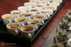 Nooitgedacht Wedding Photography Stellenbosch by ZaraZoo South Africa Wedding Food Catering, Wedding Desserts, Creme Brulee, Zara, Wedding Photography, Tableware, Sweet, Candy, Dinnerware