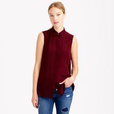 Silk sleeveless blouse - new arrivals - Women's Women_Feature_Assortment - J.Crew