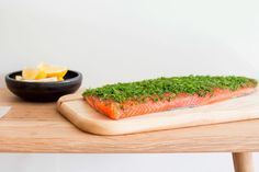 Gravadlax salmon - this technique creates a lusciously silky and mellow texture Seafood Recipes, Cooking Recipes, Fresh Seafood, Salmon, Lunch, Stuffed Peppers, Dishes, Foodies, Texture