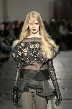 """A/W 2012 - """"Teacup and Sissors"""""""