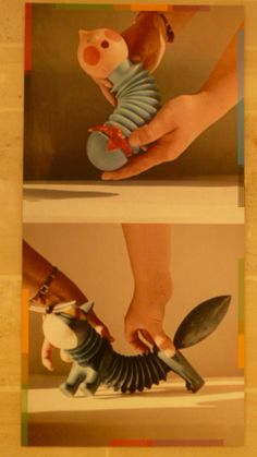 exhibition of the work of Libuse Niklova, toy designer in Paris