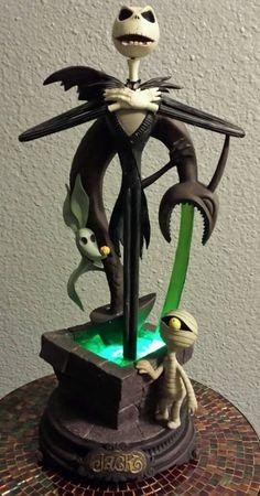 The Nightmare Before Christmas Jack Skellington Illuminated Sculpture