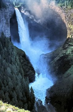 Helmcken Falls at Wells Gray Provincial Park near Clearwater,British Columbia, Canada