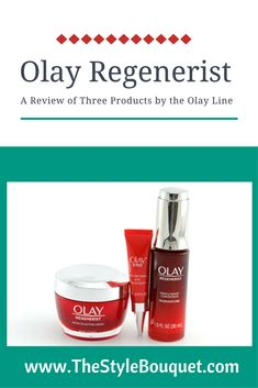 Review of Olay Regenerist Products #beauty #skincare #Olay #Regenerist  #review