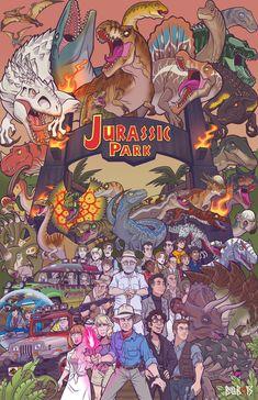 KLN (@BallBots) / Twitter Jurassic Park The Game, Jurassic Park Poster, Jurassic Movies, Jurassic Park Series, Jurassic Park World, Jurassic Park Characters, Jurassic Park Tattoo, Dinosaur Drawing, Dinosaur Art