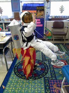 Rocket Man Illusion Costume... Coolest Homemade Costumes