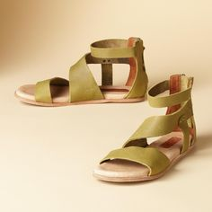 ca55b1be274b COOL CUSHION SANDALS -- Beautiful proof that foot friendliness and great  style can coexist—