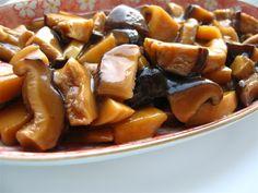 Chinese bamboo mushrooms-Ciuperci cu bambus Traditional Chinese Food, Chinese Bamboo, Pretzel Bites, French Toast, Cheesecake, Stuffed Mushrooms, Asian, Breakfast, Blog