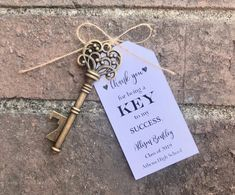100 Skeleton Key Bottle Openers * Graduation Favor * Customized Tags * Key to My Success * High School College Graduation Party * Grad Party Nautical Wedding Favors, Wedding Favour Jars, Unique Party Favors, Gifts For Wedding Party, Key Bottle Opener, Graduation Party Favors, Practical Wedding, Custom Tags, Party Planning