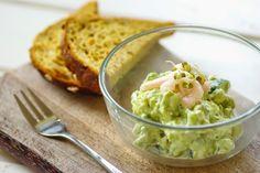 Liisi Blogi: Avokaado-kurgisalat krevettidega