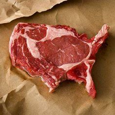 United steaks of America. Delicious.