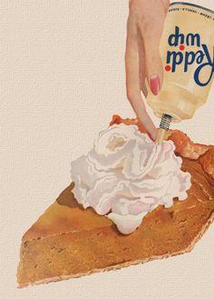 """""""Reddi Wip"""" ~ A Thanksgiving Staple! Retro Recipes, Vintage Recipes, Thanksgiving Appetizers, Thanksgiving Recipes, Thanksgiving Decorations, Vintage Food Posters, Vintage Ads, Vintage Thanksgiving, Happy Thanksgiving"""