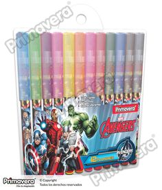 Plumones Avengers http://escritura.papelesprimavera.com/product/plumones-avengers-primavera/