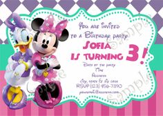 Birthday Party Supplies By Papel Pintado Minnie Mouse