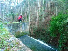 RUTAS EN ASTURIAS: Avilés, cascadas del Escañorio. En bici