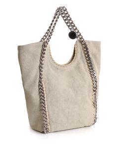 Canvas Falabella Big Chain Bag - Stella McCartney