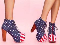 Best Design Collection America Shoes Stars and Stripes