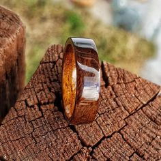 Black Imbuia Burl Bentwood Wedding Ring with an African Walnut Liner Ring Ring, Wood Engagement Ring, Jewelry Box, Rings For Men, Wedding Rings, African, Etsy, Beautiful, Stuff To Buy
