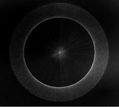 Illustration of Pi Expanding Forever Closer to a Circle.