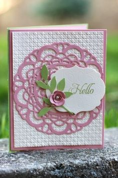 Doily die Stampin' Up!