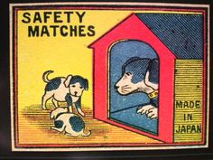 Safety Matches package design