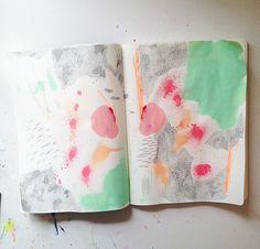 art journal page #artjournal #visualjournal