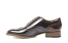 Antia Red Ladies Oxford Brogue | Shoes & Boots | Oliver Sweeney