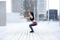 A 10-Minute Bodyweight Cardio Workout That Really Works Your Legs And Butt