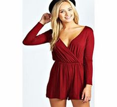 boohoo Aveline Wrap Over Playsuit - berry azz40935 Perfect for daytime shopping or evening partying, the playsuit will take you stylishly through AW. Mesh inserts and peplum frills are worked into this staple style saviour, and lace detailing and anim http://www.comparestoreprices.co.uk/womens-clothes/boohoo-aveline-wrap-over-playsuit--berry-azz40935.asp