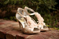 wow, super cute shoes - where can I get these?! Deniza and Jordan   Married © @Kristen Weaver