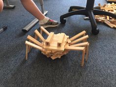 """"""" One of 6 year olds made this midel. Our kids love Kapla. Our Kids, Work On Yourself, Planks, Twitter, Model, Animals, Diy Toys, Children, Gaming"""
