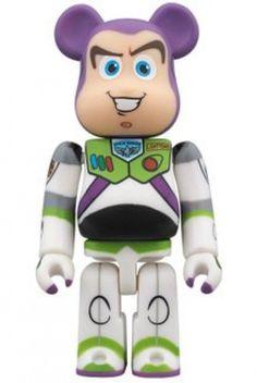 F/S BE@RBRICK BEARBRIC 400% x Toy Story Buzz Lightyear Medicom Toy Action Figure #MEDICOMTOY