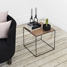 The Design Chaser: Twin Table | By Lassen