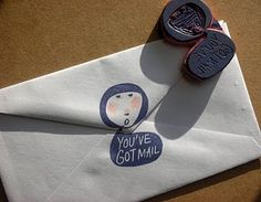 Girls are crying rubber stamp
