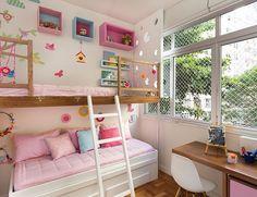 Ideia de @hana.lerner.arquitetura e @ninamoraesdesign, foto dd @raizesfotografia #natocadesign #decoration #decor #bedroomdecor #kidsroom ##quartodemenina #quartoinfantil #quartodecriança