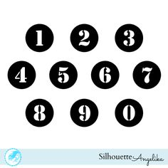 Number Stencils Pinterest'te | Stensiller, Yazdırılabilir Şablonlar ...